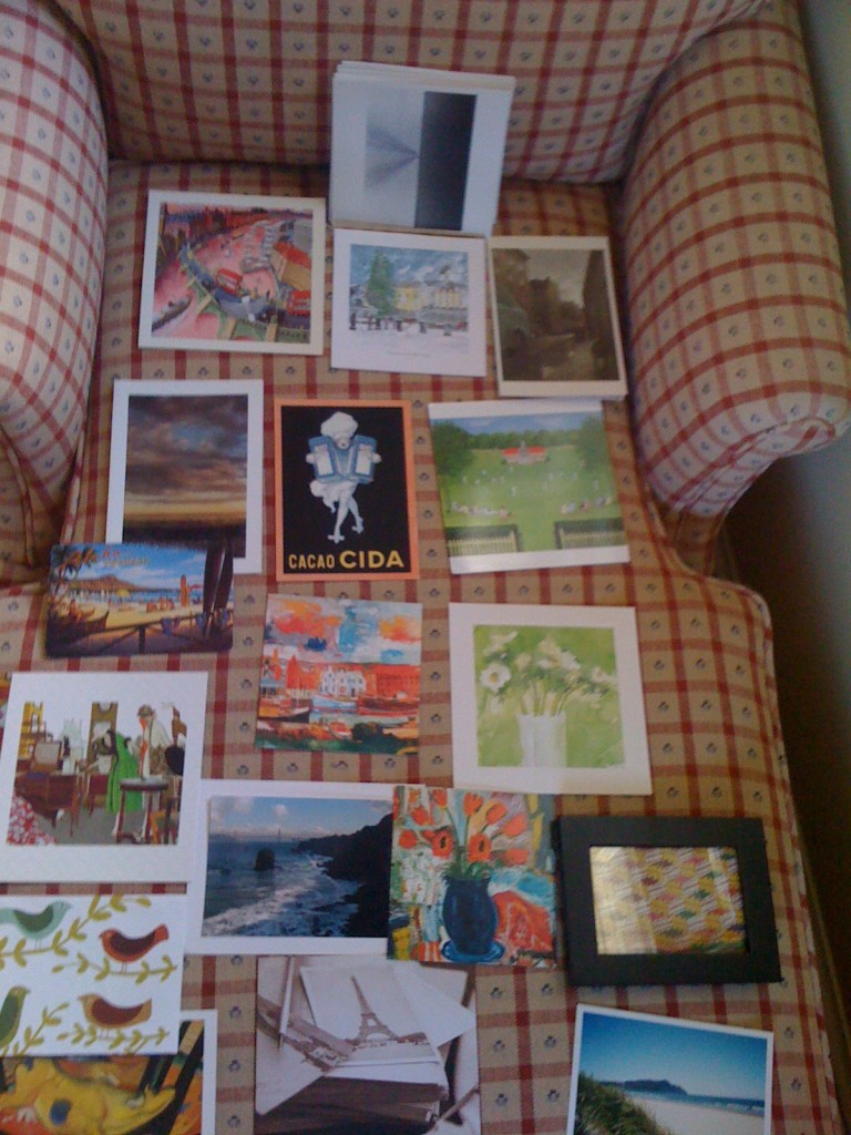 Postcards to be framed