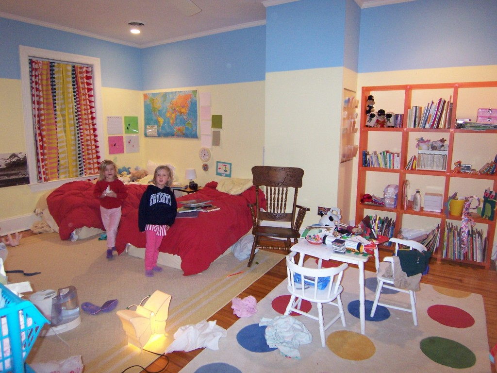 Messy kids' room