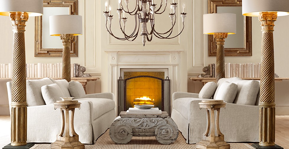 Restoration Hardware lamps
