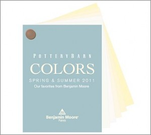 Pottery Barn Benjamin Moore Fan Deck
