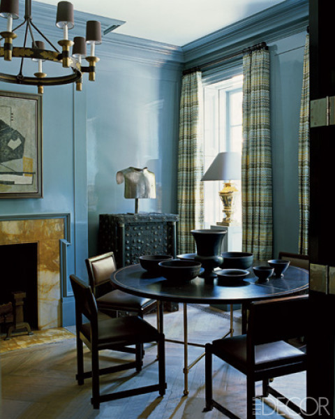 blue dining room steven gambrel