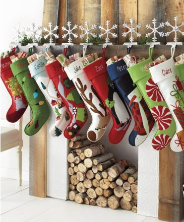 Christmas stockings from Etsy | bossy color Annie Elliott Interior ...