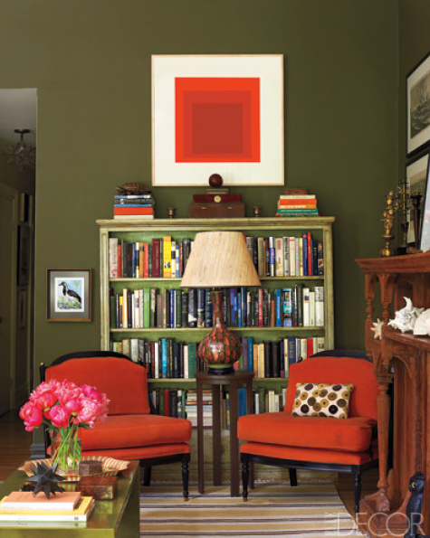 Tangerine Living Room Decor: Pantone's Color Of The Year 2012: 17-1463 Tangerine Tango