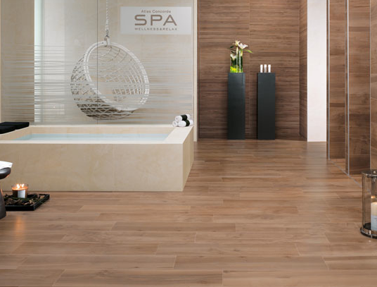 Atlas Concorde's wood grain tile