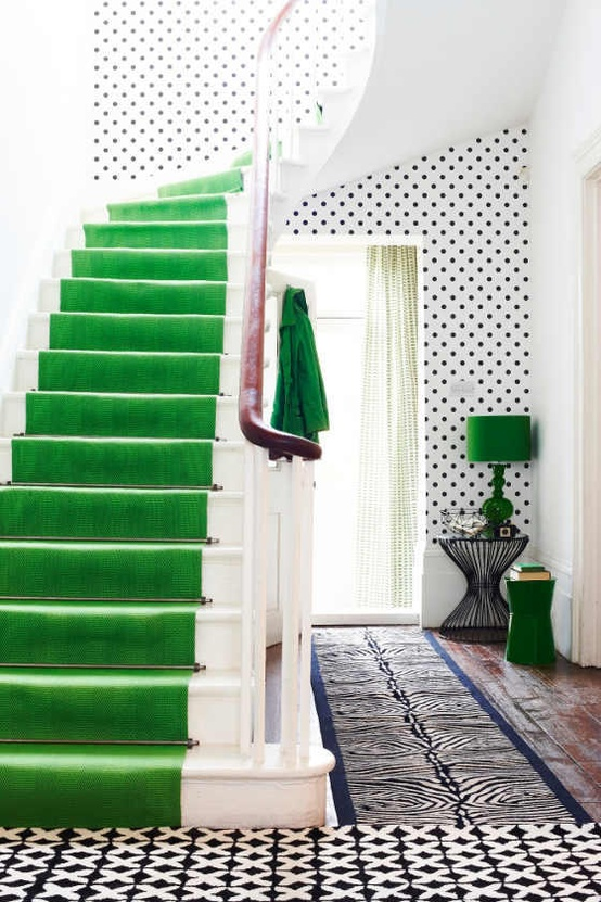 Emerald Stair Runner