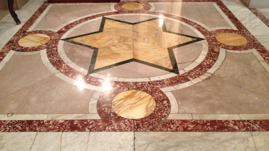 Floor of The Jefferson Hotel