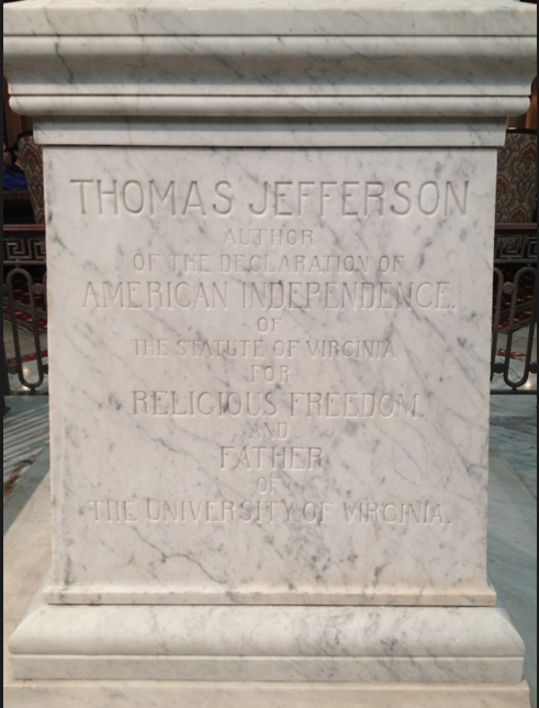 Thomas Jefferson's epitaph