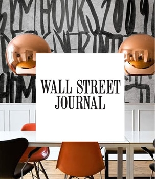 Wall Street Journal - Wallpaper with something to say