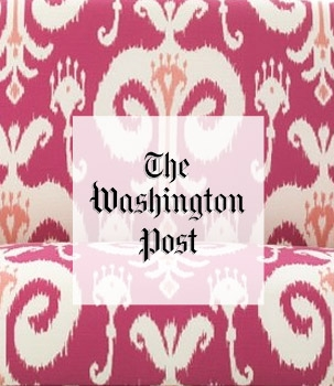 Painting and Decoration with the color pink. Annie Elliott in the Washington Post