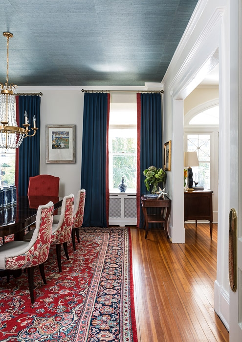 Historic dining room, design by Annie Elliott