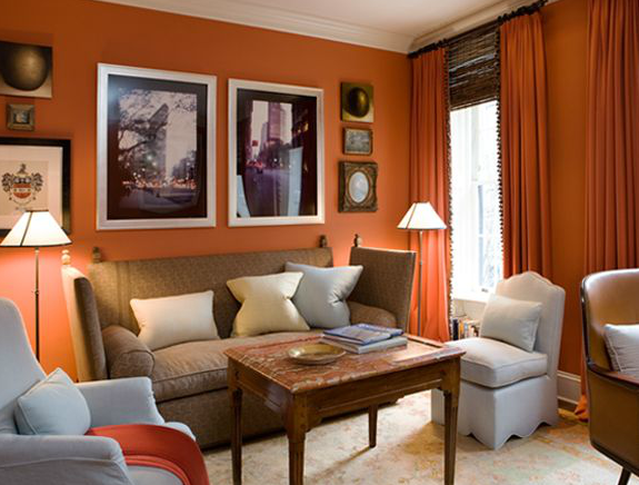 Jeffrey Bilhuber Pantone color of the year Tangerine Tango