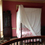 Canopy beds at Colonial Williamsburg