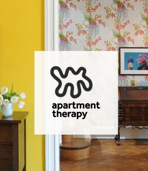 bossy color in apartment therapy