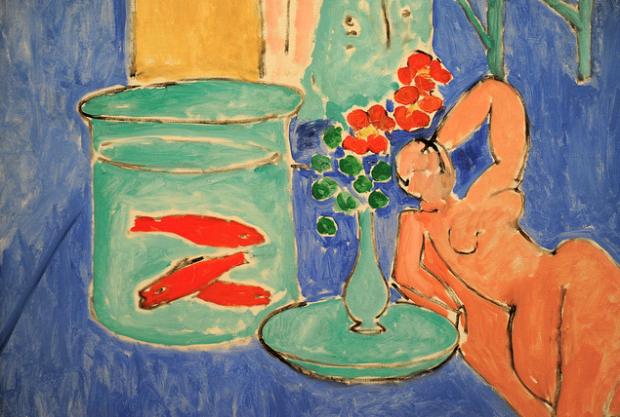 Henri Matisse, Goldfish and Sculpture, 1912