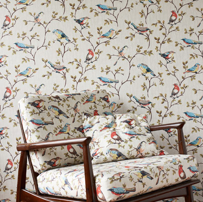 Matchy Matchy Walls And Upholstery Cool Again Or Too