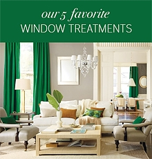 Annie Elliott Interior Designer - Our 5 Favorite Window Treatments