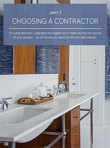 Bossy Color - Choosing a Contractor, Part 1